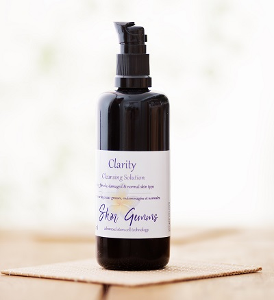 Clarity Facial Cleansing Lotion vegan plant based ingredients