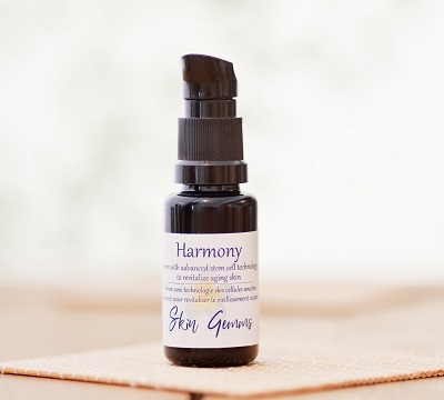 Harmony botanical vegan facial serum with plant stem cells