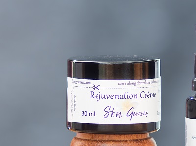 Rejuvenating creme moisturizer for all skin types